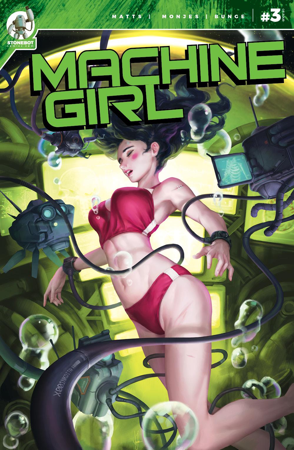MACHINE GIRL Chapter #3