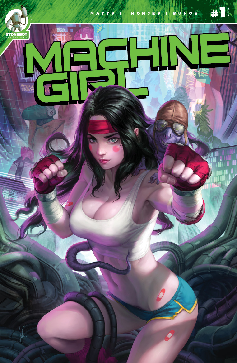 MACHINE GIRL Chapter #1