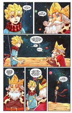 THE LITTLE PRINCE Chapter #3 Page #6