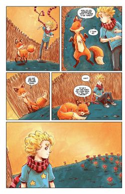 THE LITTLE PRINCE Chapter #4 Page #12