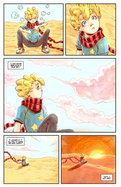 THE LITTLE PRINCE Chapter #3 Page #21
