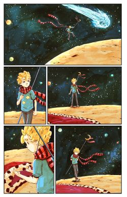 THE LITTLE PRINCE Chapter #3 Page #3