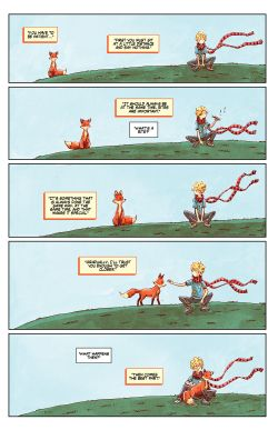 THE LITTLE PRINCE Chapter #4 Page #11