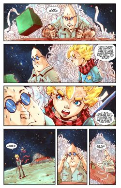 THE LITTLE PRINCE Chapter #3 Page #15