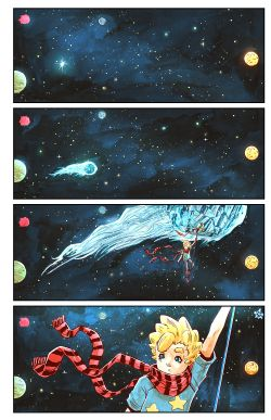 THE LITTLE PRINCE Chapter #3 Page #2