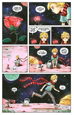 THE LITTLE PRINCE Chapter #2 Page #19