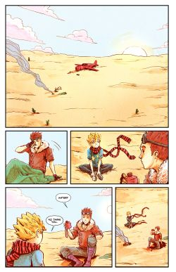THE LITTLE PRINCE Chapter #2 Page #7