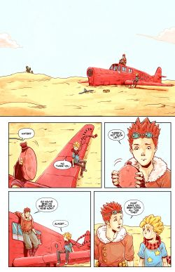 THE LITTLE PRINCE Chapter #4 Page #2