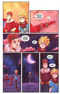 THE LITTLE PRINCE Chapter #3 Page #22