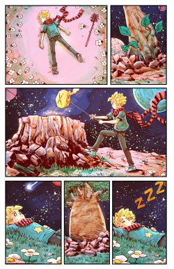 THE LITTLE PRINCE Chapter #2 Page #3