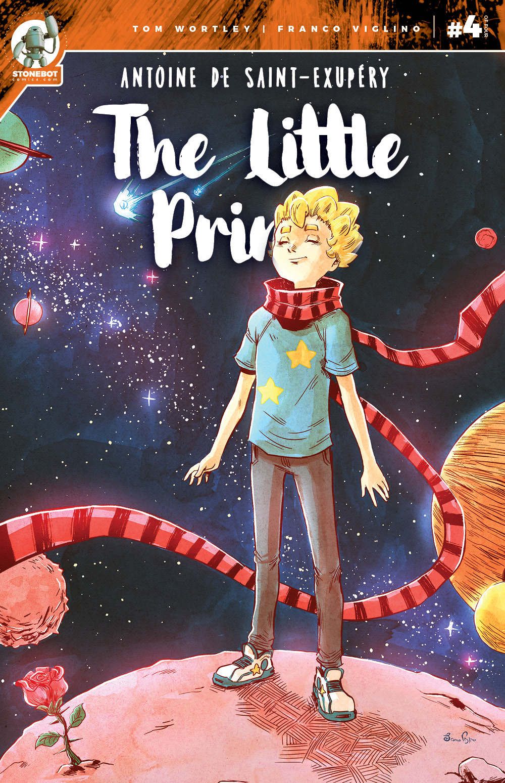 THE LITTLE PRINCE Chapter #4