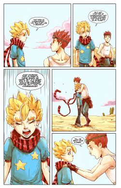 THE LITTLE PRINCE Chapter #2 Page #15