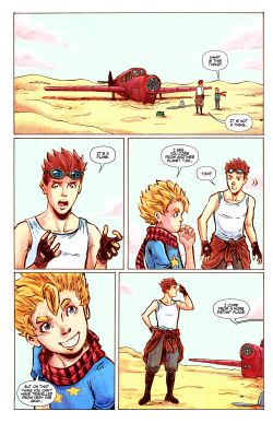 THE LITTLE PRINCE Chapter #1 Page #19
