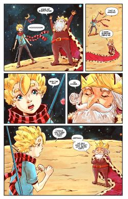 THE LITTLE PRINCE Chapter #3 Page #5