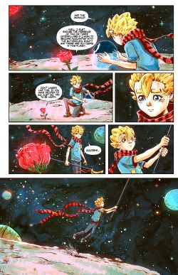THE LITTLE PRINCE Chapter #2 Page #22