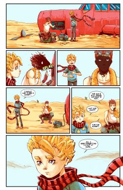 THE LITTLE PRINCE Chapter #2 Page #8