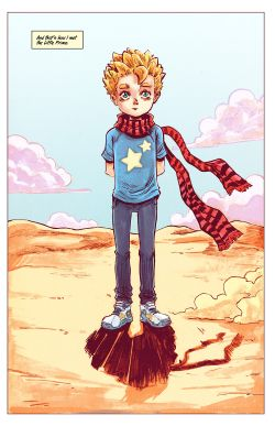 THE LITTLE PRINCE Chapter #1 Page #12