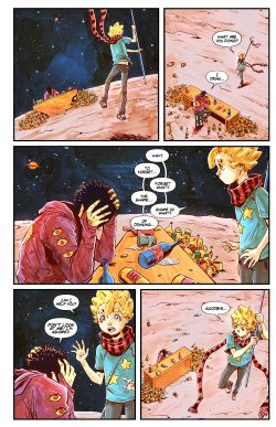 THE LITTLE PRINCE Chapter #3 Page #10