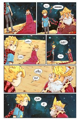 THE LITTLE PRINCE Chapter #3 Page #4