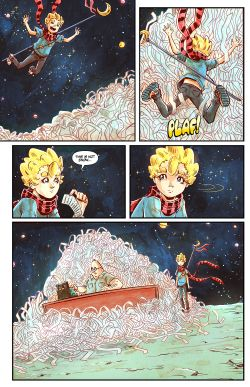 THE LITTLE PRINCE Chapter #3 Page #12