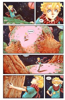 THE LITTLE PRINCE Chapter #2 Page #4