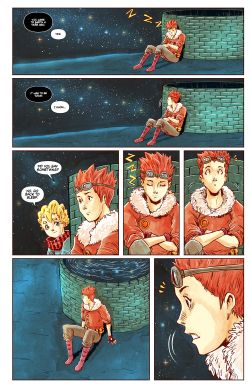 THE LITTLE PRINCE Chapter #4 Page #18