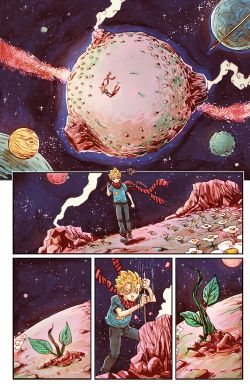 THE LITTLE PRINCE Chapter #2 Page #2
