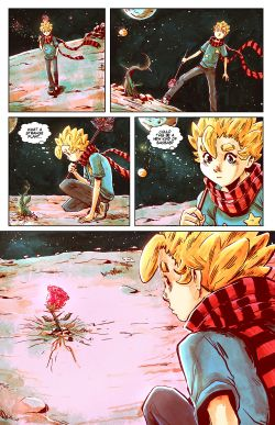 THE LITTLE PRINCE Chapter #2 Page #17