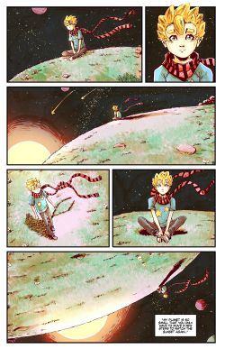 THE LITTLE PRINCE Chapter #2 Page #9