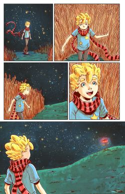 THE LITTLE PRINCE Chapter #4 Page #7