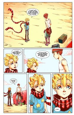 THE LITTLE PRINCE Chapter #2 Page #20