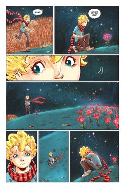 THE LITTLE PRINCE Chapter #4 Page #8