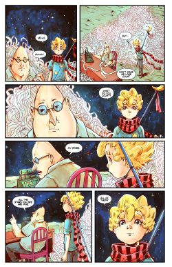 THE LITTLE PRINCE Chapter #3 Page #13