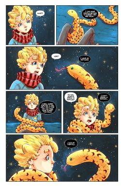 THE LITTLE PRINCE Chapter #4 Page #6