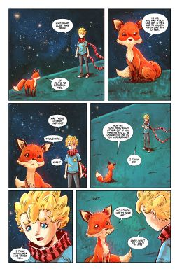 THE LITTLE PRINCE Chapter #4 Page #10
