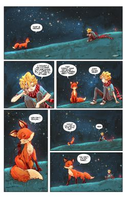 THE LITTLE PRINCE Chapter #4 Page #9