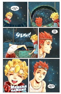 THE LITTLE PRINCE Chapter #4 Page #16