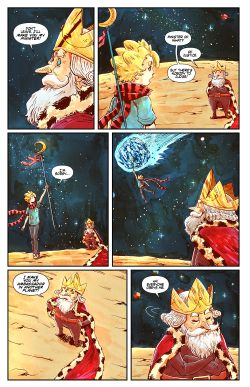 THE LITTLE PRINCE Chapter #3 Page #7