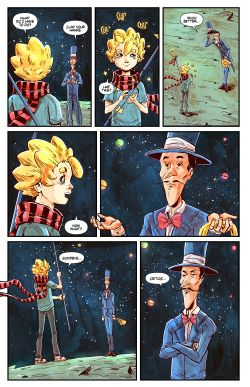 THE LITTLE PRINCE Chapter #3 Page #9