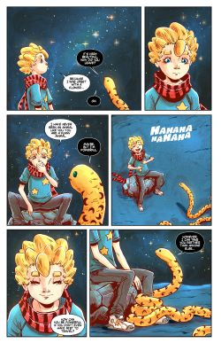 THE LITTLE PRINCE Chapter #4 Page #5