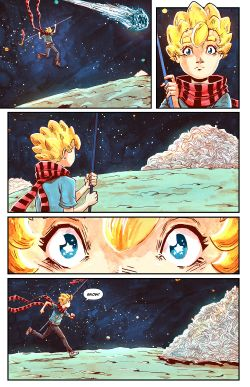 THE LITTLE PRINCE Chapter #3 Page #11