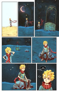 THE LITTLE PRINCE Chapter #4 Page #3