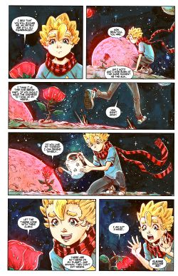 THE LITTLE PRINCE Chapter #2 Page #18