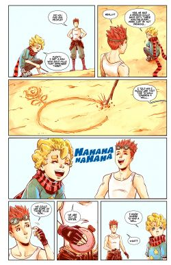 THE LITTLE PRINCE Chapter #4 Page #14