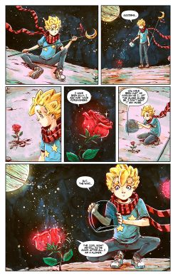 THE LITTLE PRINCE Chapter #2 Page #21