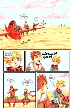 THE LITTLE PRINCE Chapter #3 Page #18