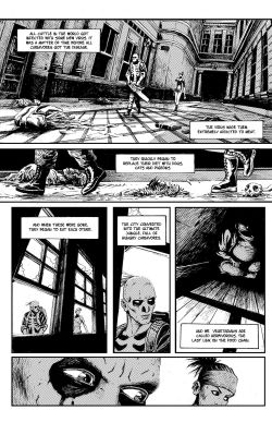 THE SKELETON Chapter #1 Page #5
